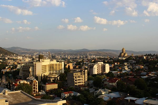 Day View of Tbilisi from Hotel Tbilisi Apart