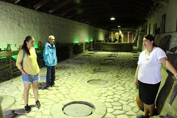 Kindzmarauli Corporation cellars