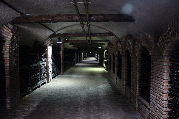 Tunnels of Winery Khareba