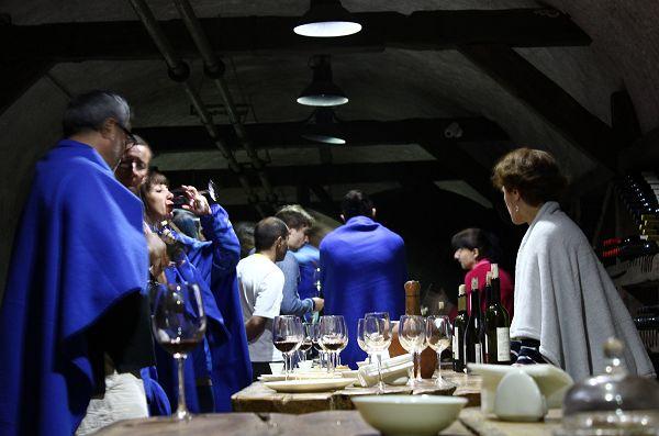 Winery Khareba tasting of wine